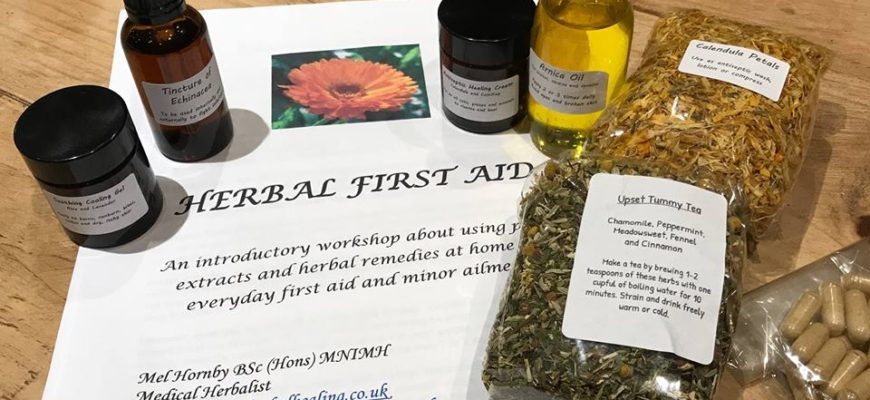 Workshop – Make Your Own Herbal First Aid Kit
